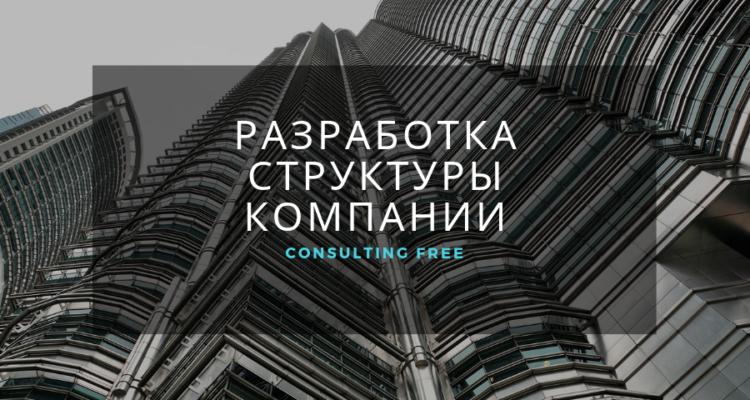 Разработка структуры компании